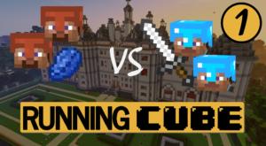 Première vidéo ! Running Cube, un jeu Minecraft inédit !
