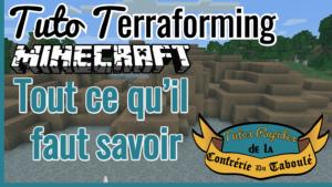 Tutos Rapides Terraforming Minecraft : WorldEdit et VoxelSniper [complet]